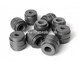 Customized silicon carbide sleeve