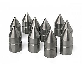 Customized tungsten carbide pushing mandrel