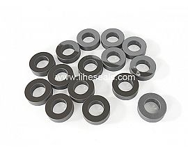 Polished silicon carbide rings